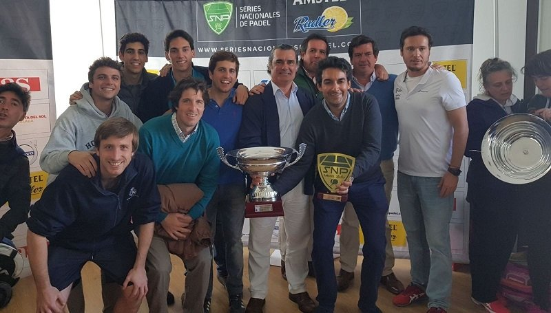 final play off de las series nacionales de padel