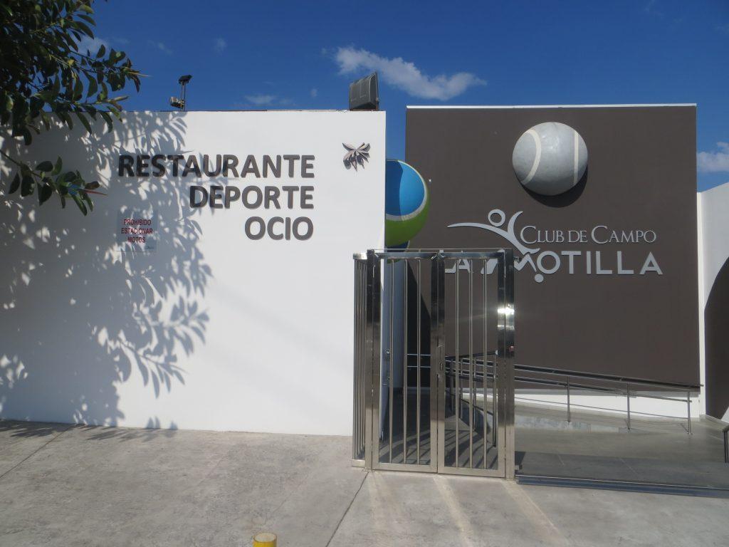 Entrada Club de Campo La Motilla
