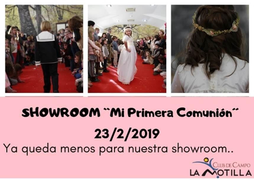 Showroom comuniones 2019