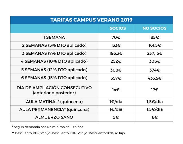 Tarifa-campus-VERANO-2019