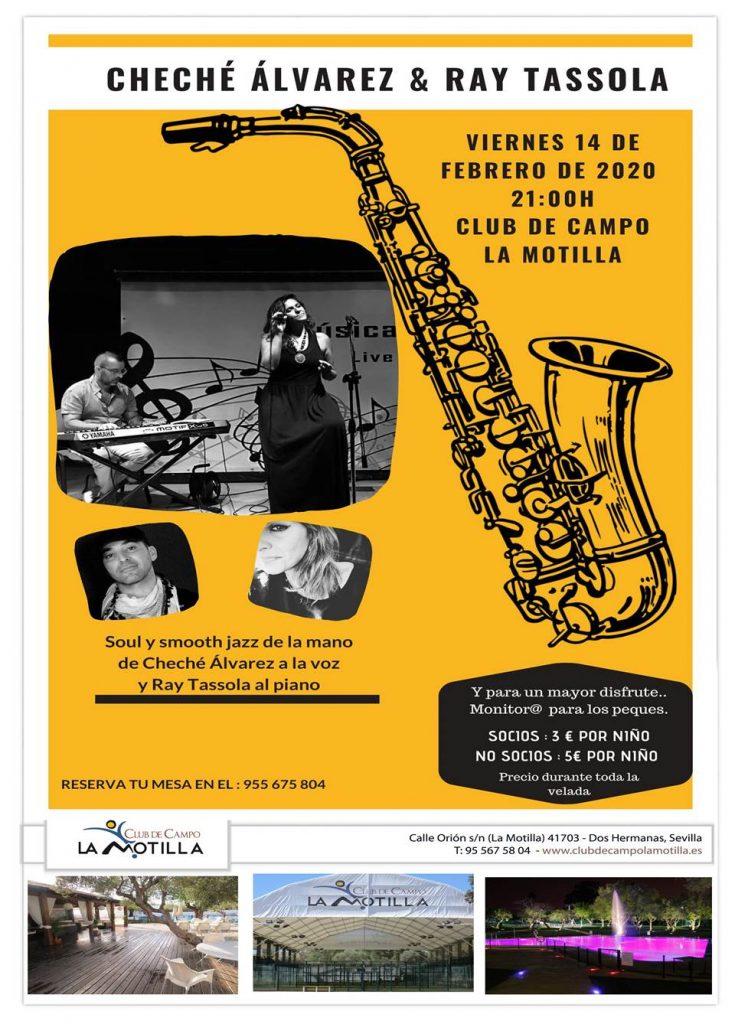 Concierto soul & jazz con Cheché Álvarez y Ray Tassola